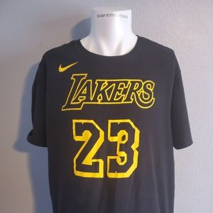 Lebron James Lakers Nike Shirt XXL Excellent Cond